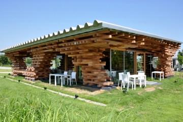 Café Kureon,Wooden Restaurant  8 -