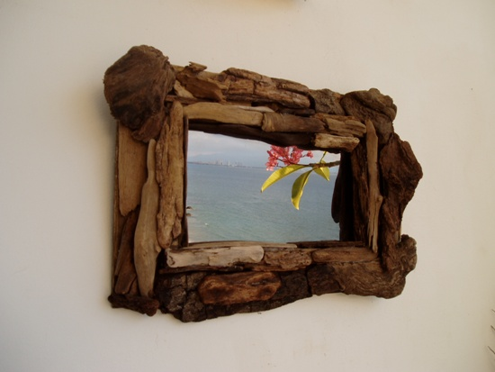 Driftwood mirrors 03 กิ่งไม้สวยๆ..ทำอะไรได้บ้าง