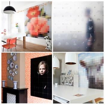 Ixxi modular artworks 350x350 Ixxi modular connecting system ระบบการต่อกระดาษหลายแผ่นให้กลายเป็นฉากกั้นห้องหรือวอลล์เปเปอร์