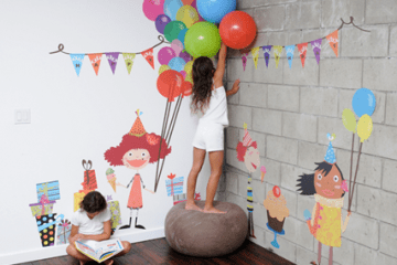 เปิดตัว Wall stickers,Pop&Lolli by Moms,Munchkins and Monsters 15 - eco-friendly