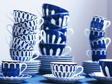 hermesbleudailleurs6 467x350 Hermés New Blue dAilleurs คอลเลกชั่นถ้วยชามพอร์ซเลนแห่งท้องทะเล