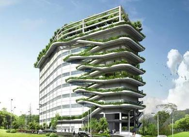 "Rising Green แนวทางใหม่สำหรับสถาปัตยกรรมในสไตล์ ""Tropical Architecture"" 23 - Apartment"