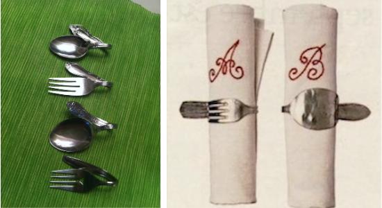 D.I.Y CUTLERY UPCYCLING เปลี่ยนช้อนส้อมที่ผุพัง สู่ของตกแต่งดีไซน์ครีเอท 20 - cutlery