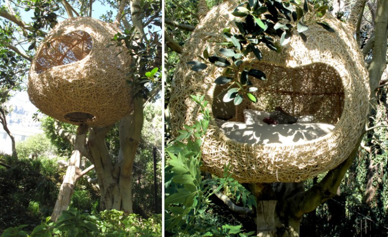 'weaver's nest' รังนกยักษ์ by Porky Hefer 18 - bird nest