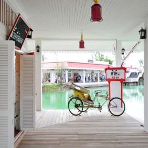 """เที่ยวสนุกทุกวันหยุดได้ที่ """"ตลาดน้ำหัวหินสามพันนาม"""" Floating market @Huahin 21 - Floating market"""