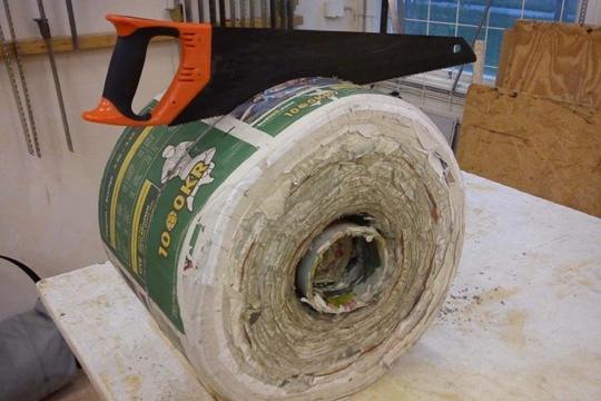 25550420 160325 เฟอร์นิเจอร์ไม้ จากกระดาษหนังสือพิมพ์เก่า