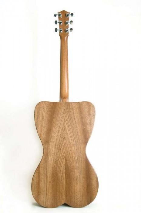 25550426 191548 Female Form 6 String Acoustic Guitar กีต้าร์โปร่งแนวๆ นู้ด..แต่อาร์ต