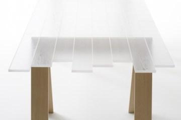 Transparent Wood..วัสดุไม้โปร่งแสง เหมือนไม้ถูกหุ้มด้วยน้ำแข็ง 11 - Nendo