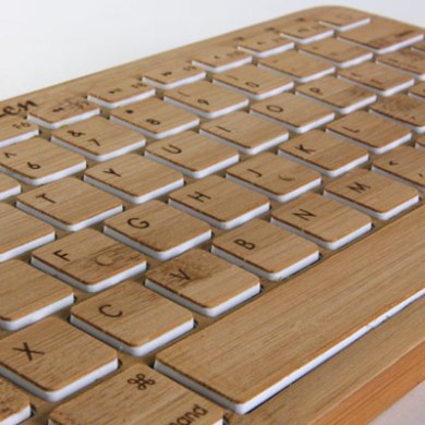 Bamboo Keyboard 22 - apple