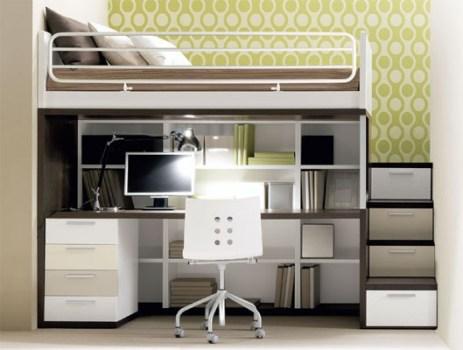 Composizione 911 2 463x350 เฟอร์นิเจอร์ สำหรับพื้นที่จำกัด..เตียง+ตู้+โต๊ะทำงาน ในชิ้นเดียว