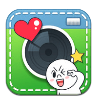 LINE Camera แต่งรูปให้สนุกด้วย icon ของ LINE 29 - iPhone