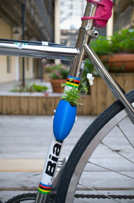 Bike planters ปลูกต้นไม้ให้จักรยาน 13 - Green