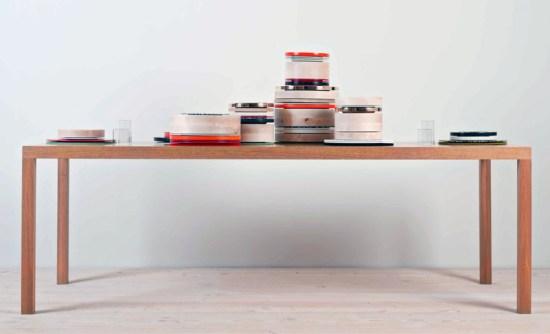 colourware01 550x334 Colourware ชุดจาน ชาม ประติมากรรมบนโต๊ะอาหาร
