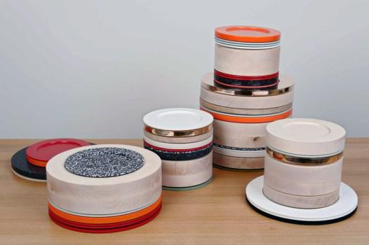 colourware02 526x350 Colourware ชุดจาน ชาม ประติมากรรมบนโต๊ะอาหาร