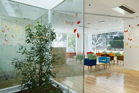 หน้าต่างมีสี..และลวดลายใบไม้ ที่ปลิวมาจากหน้าต่าง..สร้างความรู้สึก สุข..สดชื่น..กับลูกค้า 18 - interior
