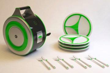 Eco Wash เครื่องล้างจานไม่ง้อไฟฟ้า  2 - Eco Wash