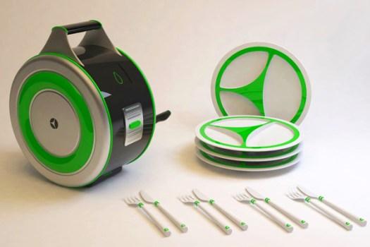 Eco Wash เครื่องล้างจานไม่ง้อไฟฟ้า  3 - Eco