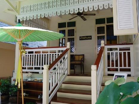 home05 466x350 บ้านดินสอโรงแรมเล็กใจกลางพระนคร ภายใต้แนวคิดอนุรักษ์อาคารโบราณของไทย