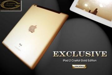 """iPad 2 Crystal Gold Edition """"ไอแพด 2 แพงที่สุดในโลก"""" เครื่องละ 246 ล้านบาท"""