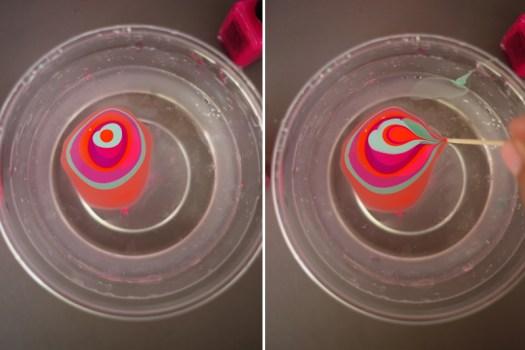 marble4 525x350 DIY.Glassware เติมสีสีสันให้แก้วใบเก่า