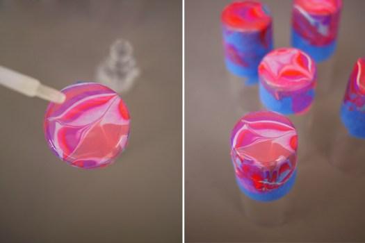 DIY.Glassware เติมสีสีสันให้แก้วใบเก่า 19 - DIY