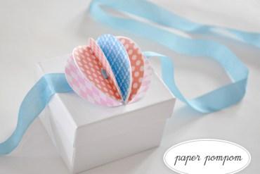 DIY.POM POM gift 18 - Gift