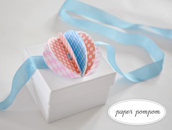 DIY.POM POM gift 23 - Gift
