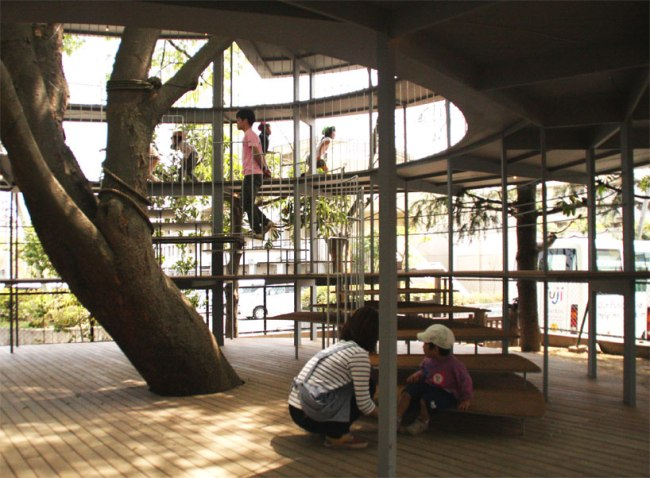 ring04 650x478 RING AROUND A TREE เพลินกายเพลินใจรอบๆต้นไม้