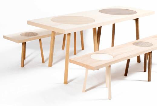เก้าอี้สตูว์ + ม้านั่ง ในชิ้นเดียว เรียบง่ายแนว Minimalist 14 - Bench