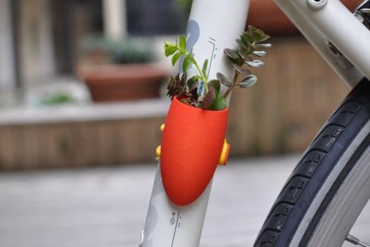 Bike planters ปลูกต้นไม้ให้จักรยาน 16 - Green