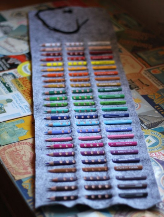 DIY.กล่องดินสอสี ทำเองได้ง่ายๆ 13 - DIY