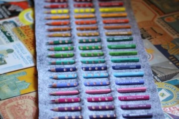 DIY.กล่องดินสอสี ทำเองได้ง่ายๆ 21 - DIY