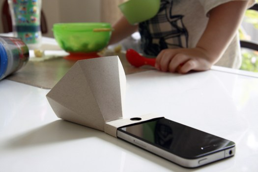 The eco-amp,iPhone speaker จากกระดาษรีไซเคิล 17 - eco-friendly