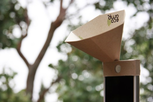 The eco-amp,iPhone speaker จากกระดาษรีไซเคิล 16 - eco-friendly