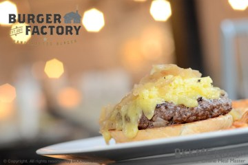 """อร่อยได้ที่ """"เบอร์เกอร์ แฟคตอรี่"""" Burger Factory ย่านเอกมัย ซ.10"""