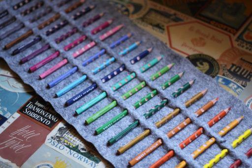 DIY.กล่องดินสอสี ทำเองได้ง่ายๆ 14 - DIY