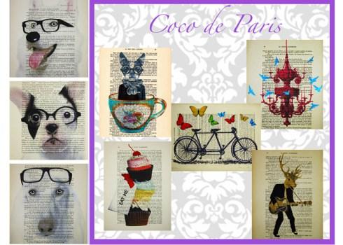 Coco de Paris is a mixed media designer งานศิลปะ/ตกแต่งบ้าน ส่งตรงถึงบ้าน 20 -