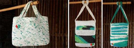 """""""ไทส่อง"""" กระเป๋าถือผลิตจากพลาสติก 16 - thaisongfairtrade"""