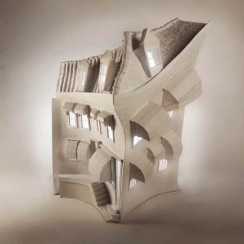 Paper sculptures กลายเป็น Animation 17 - Animation