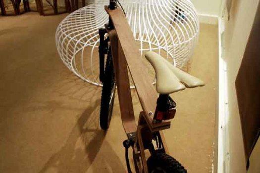 DSC 0428 525x350 Plywood Bike จักรยานไม้ ฝีมือคนไทย