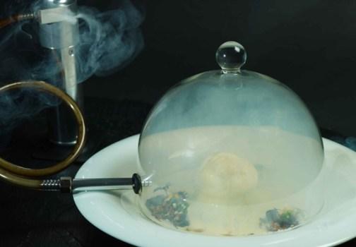Gaggan36 504x350 Gaggan Indian Cuisine อาหารอินเดียแบบ Molecular คือการเสิร์ฟอาหารที่ทำให้นักบินอวกาศมาดัดแปลงใหม่