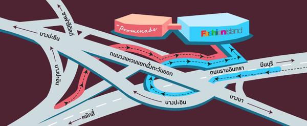 Promenade-map