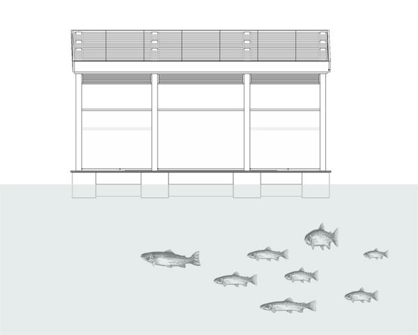 ร้านอาหารหรูลอยน้ำ..จากขวดพลาสติก 26 - school of fishing foundation