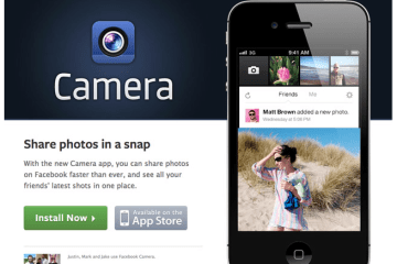 NEW!!Facebook camera app ที่เหมือนแฝดของ Instagram
