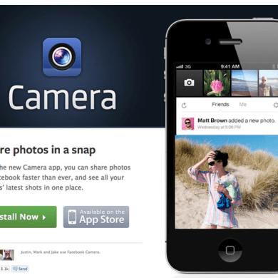 NEW!!Facebook camera app ที่เหมือนแฝดของ Instagram 20 - App