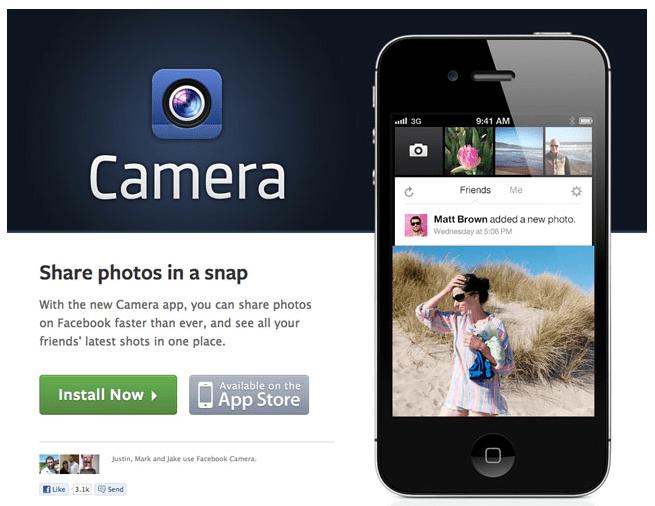 NEW!!Facebook camera app ที่เหมือนแฝดของ Instagram  14 - iTunes