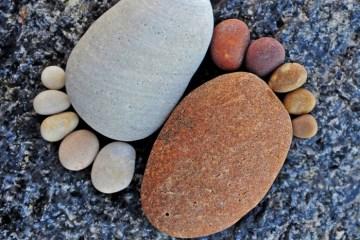รอยเท้าจากก้อนหิน..โดย Iain Blake 10 - foot prints