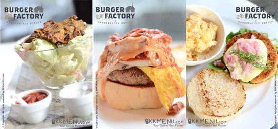a2 550x256 อร่อยได้ที่ เบอร์เกอร์ แฟคตอรี่ Burger Factory ย่านเอกมัย ซ.10