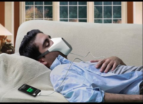 """ชาร์จไอโฟนด้วยลมหายใจ """"AIRE Mask"""" 14 -"""