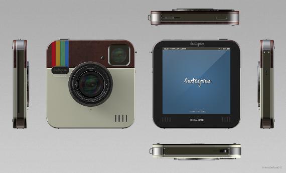 instagram socialmatic camera concept 02 กล้อง Instagram Socialmatic
